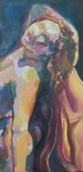 """Doll"" 24x48"" Oil on Canvas"