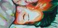 """Slumber"" 12x24"" Oil on Canvas"
