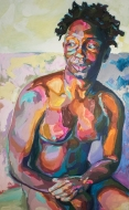 """Darryl"" 30x48"" Oil on Canvas"